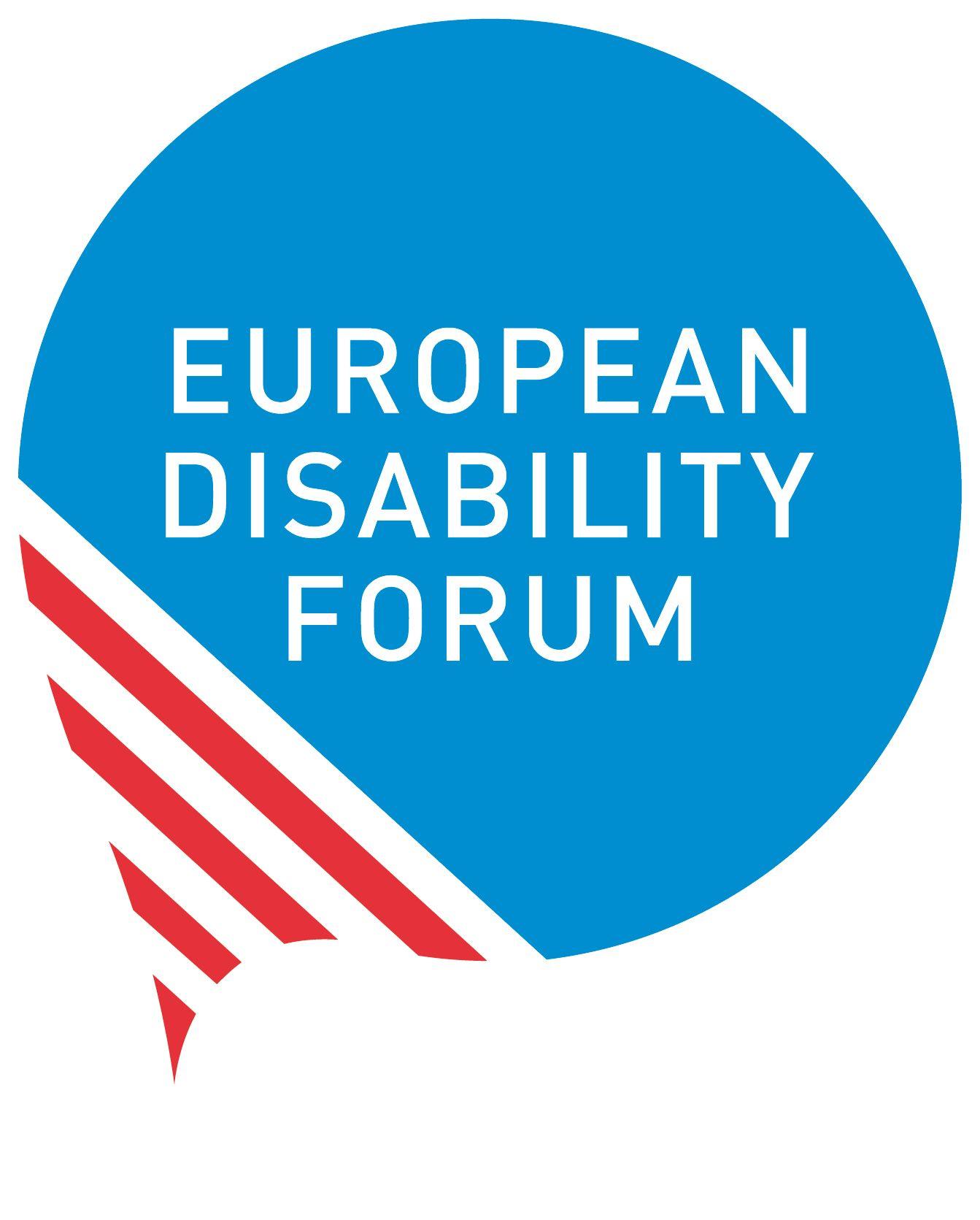logo for European Disability Forum