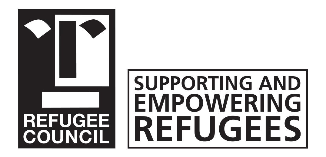 logo for Refugee Council