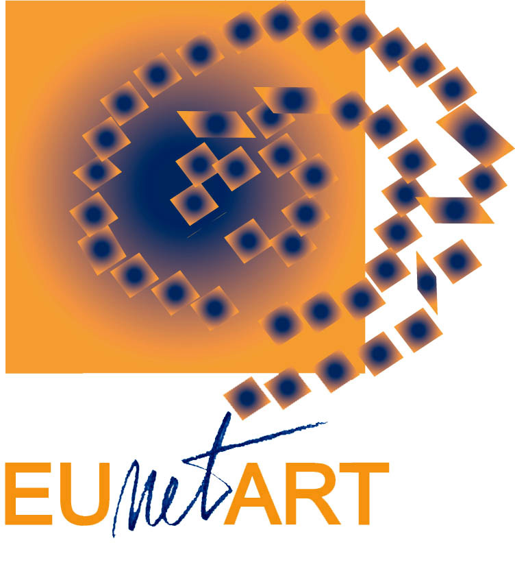 logo for EUnetART European Network of Art Organizations for Children and Young People