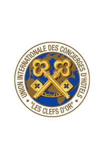 logo for Union Internationale des Concierges d'Hôtels