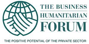 logo for Business Humanitarian Forum