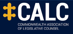 logo for Commonwealth Association of Legislative Counsel