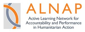logo for Active Learning Network for Accountability and Performance in Humanitarian Action
