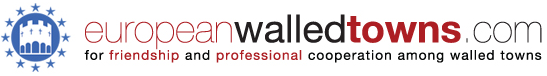 logo for European Walled Towns