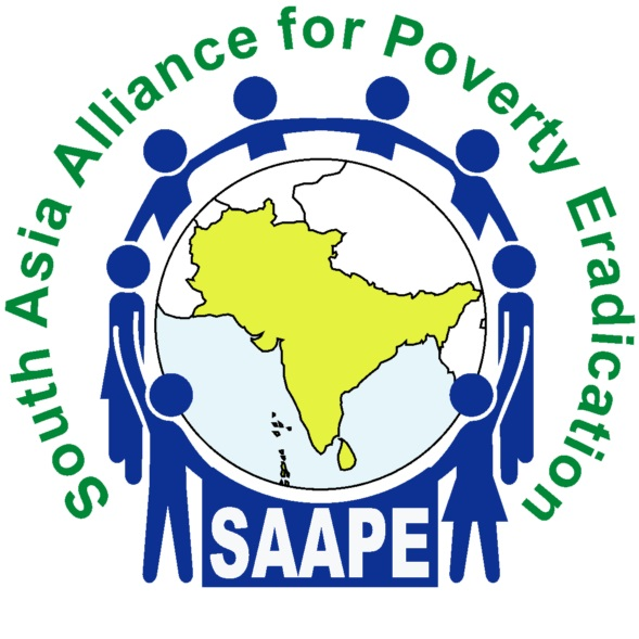 logo for South Asia Alliance for Poverty Eradication