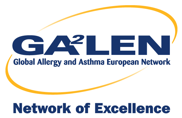logo for Global Allergy and Asthma European Network