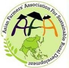 logo for Asian Farmers'Association for Sustainable Rural Development