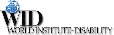logo for World Institute on Disability