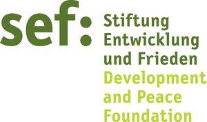 logo for Stiftung Entwicklung und Frieden