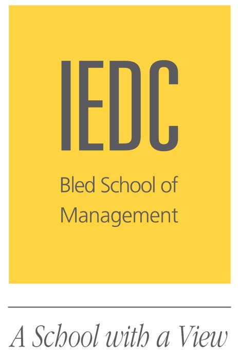 logo for IEDC - Bled School of Management
