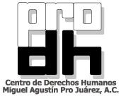 logo for Centro de Derechos Humanos Miguel Agustin Pro Juarez