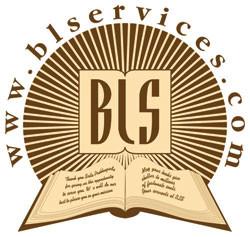 logo for Bhaktivedanta Library Services asbl