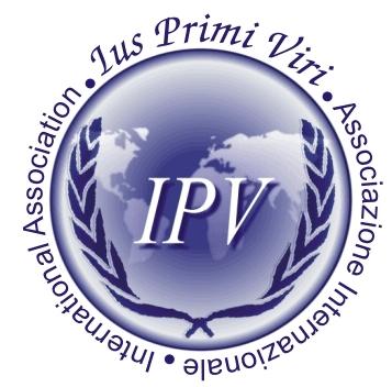 logo for International Association IUS Primi Viri