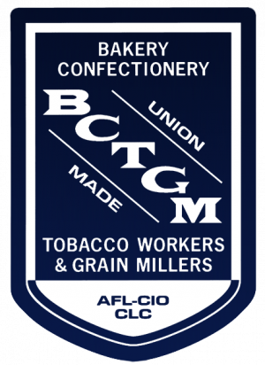 logo for Bakery, Confectionery, Tobacco Workers and Grain Millers International