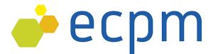 logo for Ecole européenne de Chimie, Polymères et Matériaux, Strasbourg