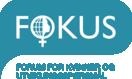 logo for Forum for Kvinner og Utviklingssporsmål