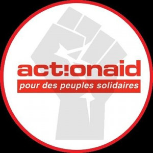 logo for ActionAid France - Peuples Solidaires
