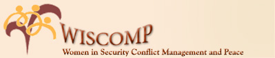 logo for Women in Security, Conflict Management and Peace