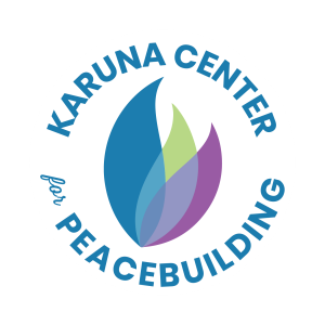 logo for Karuna Center for Peacebuilding