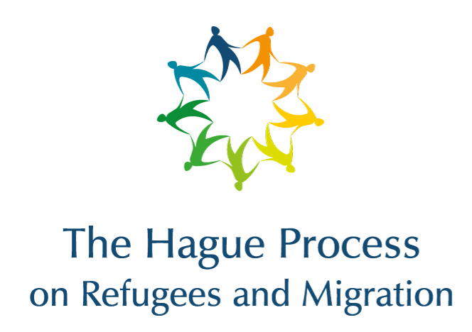 logo for The Hague Process on Refugees and Migration