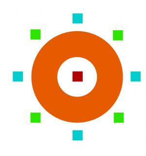logo for Mesa de Articulación de Asociaciones Nacionales y Redes de ONGs de América Latina y el Caribe