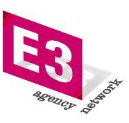 logo for E3 International Agency Network