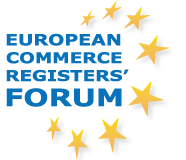 logo for European Commerce Registers' Forum