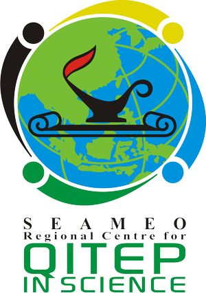 logo for SEAMEO Regional Centre for Quality Improvement of Teachers and Education Personnel in Science