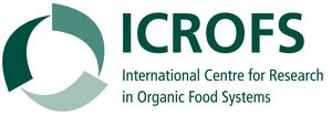 logo for International Centre for Research in Organic Food Systems