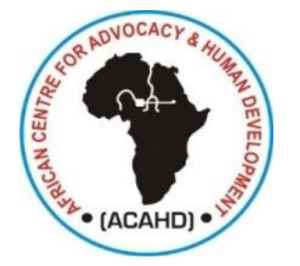 logo for African Centre for Advocacy and Human Development
