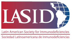 logo for Latin American Society for Immunodeficiencies