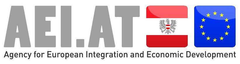 logo for Agency for European Integration and Economic Development