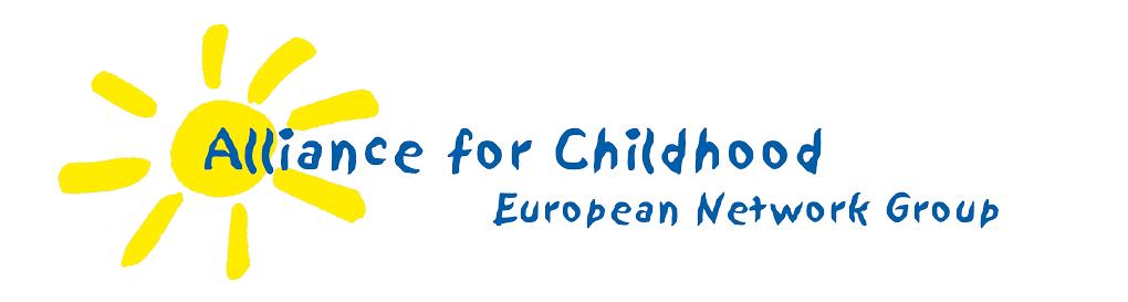 logo for Alliance for Childhood European Network Group