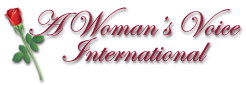 logo for A Woman's Voice International