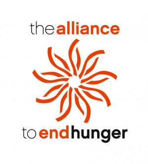 logo for Alliance to End Hunger