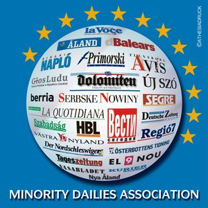 logo for European Association of Daily Newspapers in Minority and Regional Languages