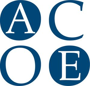 logo for Accreditation Council for Oncology in Europe