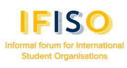 logo for Informal Forum of International Student Organizations