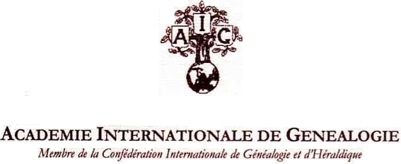logo for Académie internationale de généalogie