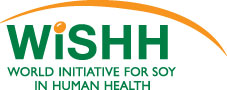 logo for World Initiative for Soy in Human Health