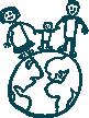 logo for Réseau mère-enfant de la Francophonie