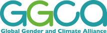 logo for Global Gender and Climate Alliance