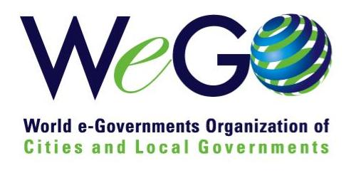 logo for World e-Governments Organization of Cities and Local Governments
