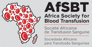logo for Africa Society for Blood Transfusion