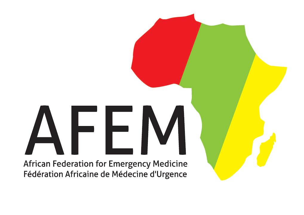logo for African Federation for Emergency Medicine