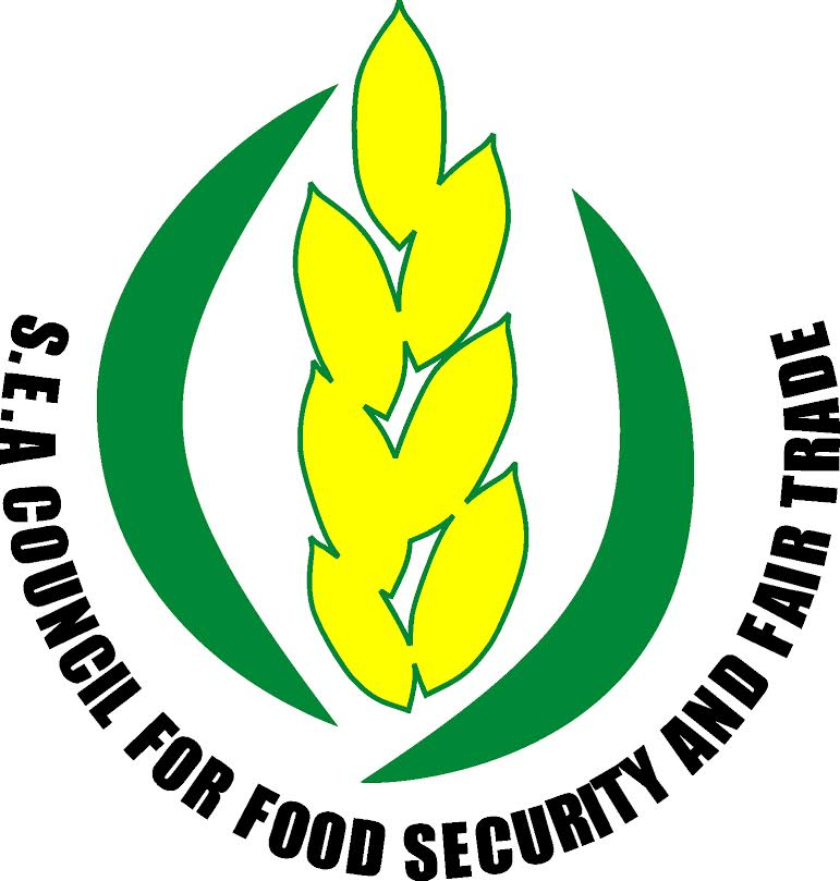 logo for Southeast Asian Council for Food Security and Fair Trade