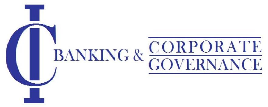 logo for International Center for Banking and Corporate Governance