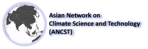 logo for Asian Network on Climate Science and Technology