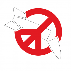 logo for International Campaign to Abolish Nuclear Weapons