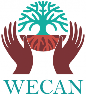 logo for Women's Earth  and  Climate Action Network, International